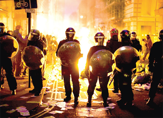 London Riots and the Big Picture