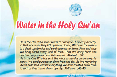 Water in the Holy Qur'an